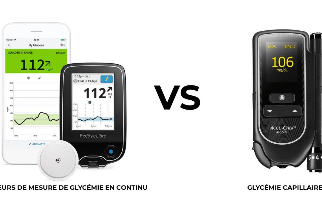 Glycémies capillaires ou capteurs freestyle libre, avantages et inconvénients